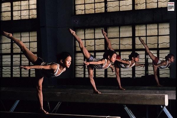 Những mần non thể thao tương lai của Trung Quốc.