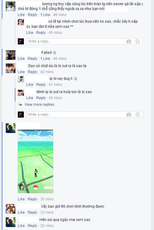 Tình trạng chung của nhiều người chơi Pokémon GO tại Việt Nam. (Ảnh: Facebook)