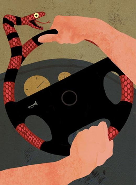 Lái xe cũng chính là nắm giữ tính mạng của mình trong tay.