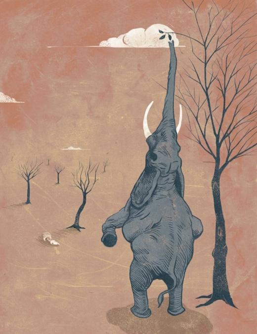 Đến một ngày khi chiếc lá cuối cùng lìa cành, con vật cuối cùng cũng sẽ ngã xuống.