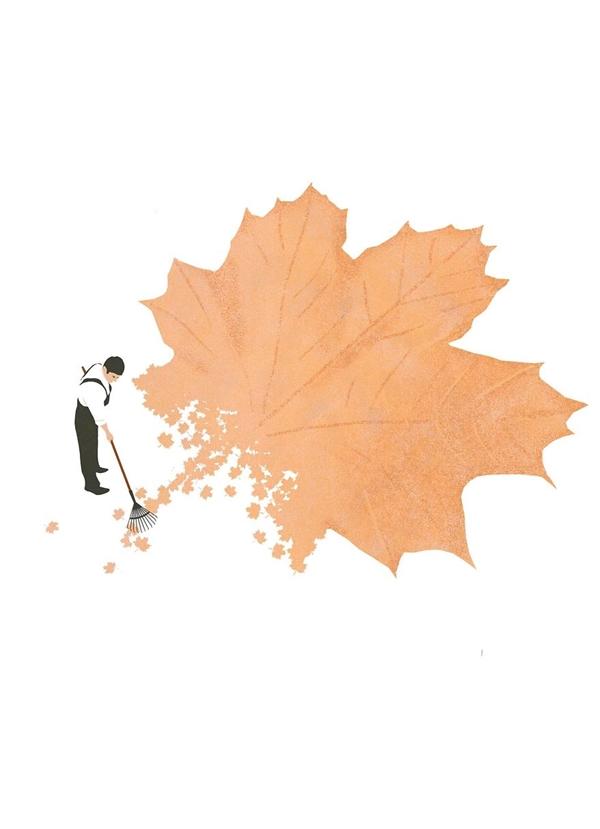 Đằng sau những điều đẹp đẽ luôn có những người phải dọn dẹp thứ chúng để lại.