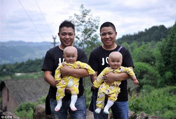 Làng Thanh Viễn có rất nhiều cặp sinh đôi, trong đó cặp sinh đôi sống thọ nhất đã 89 tuổi.(Ảnh: CEN)