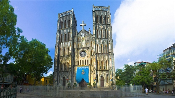 Du lịch Việt Nam - Top 5 nhà thờ cổ Việt Nam thu hút du khách