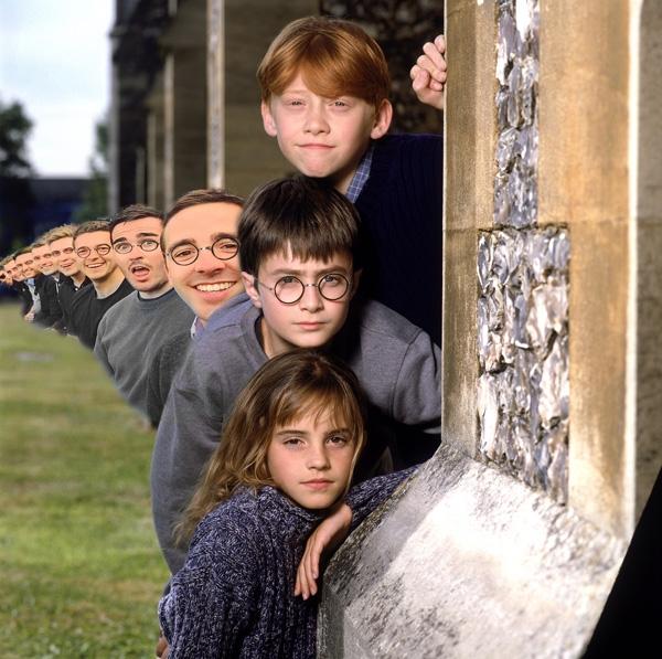 Phép phân thân siêu đẳng của Harry Potter.