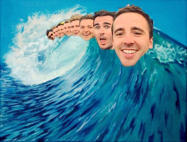 Không biết con sóng nào đã khiến các anh trôi dạt đến tận nơi đây?