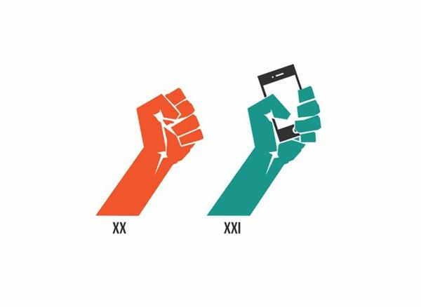 Biểu tượng của thế kỷ XXII: chiếc điện thoại.