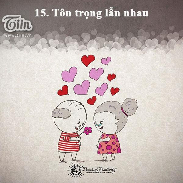 15 bí kíp giúp tình yêu bền vững trên 25 năm