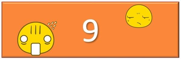 Ai đưa ra đáp án là 9 thì giơ tay lên nào... (Ảnh CP)