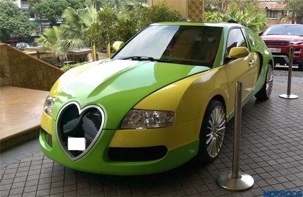 Chiếc Honda Accord đã được chủ xe khoác lên bộ cánh mới, lấy cảm hứng từ Bugatti Veyron, nhưng không phải toàn bộ các chi tiết đều giống hệt.(Ảnh: internet)