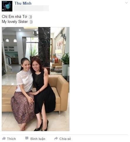 Hai chị em Thu Minh trông giống nhau như hai giọt nước. - Tin sao Viet - Tin tuc sao Viet - Scandal sao Viet - Tin tuc cua Sao - Tin cua Sao