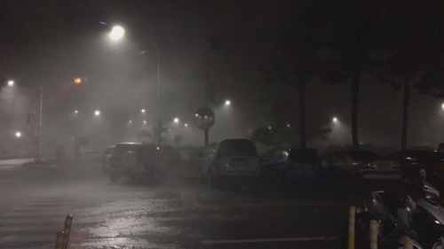 Siêu bão Nepartak bước đầu tàn phá Đài Loan.