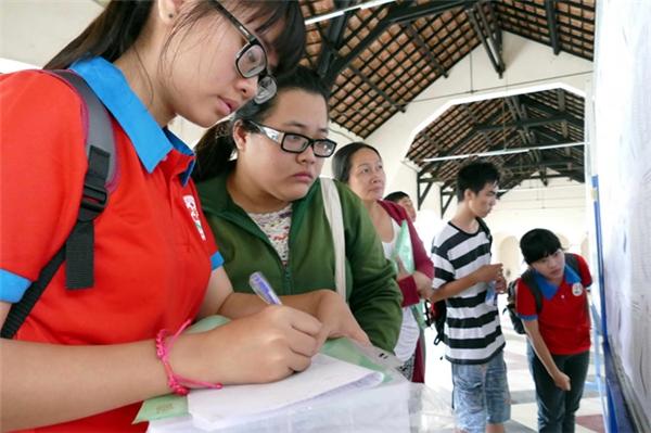 Sáng nay sở Giáo dục - Đào tạo thành phố đã công bố điểm tuyển sinh vào lớp 10.