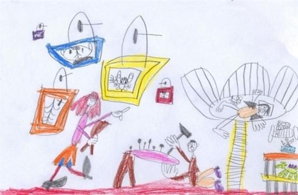 #11.(Ảnh Kids' drawings)