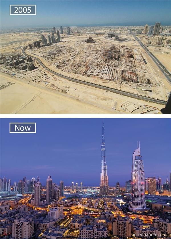 Người ta đều cho rằng, Dubai trở nên giàu sụ như ngày nay là bởi nó nằm trong giếng dầu của thế giới. Nhưng thực ra, động lực đằng sau sự phát triển thần kì của nền kinh tế Dubai chính là việc áp dụng phương thức chiến lược kinh tế phương Tây hiện đại.(Ảnh: Bored Panda)
