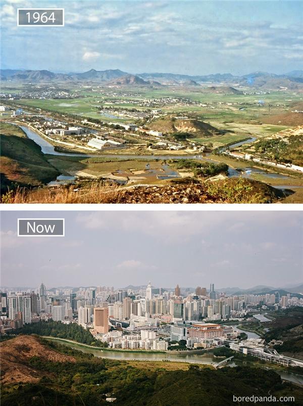 Sau 30 năm, Thâm Quyến đã đứng đầu Trung Quốcvề tiềm lực kinh tế. Sự phát triển của Thâm Quyến có thể được coi là một điều kì diệu trên thế giới về công nghiệp hoá, hiện đại hoá và đô thị hoá. Thâm Quyến đã đóng góp quan trọng vào cải cách và mở cửa của Trung Quốc. Và có một điều chắc chắn rằng con đường từ một làng chài nhỏ trở thành đô thị lớn của Thâm Quyến không thể thiếu nhữnggian nan.(Ảnh: Bored Panda)