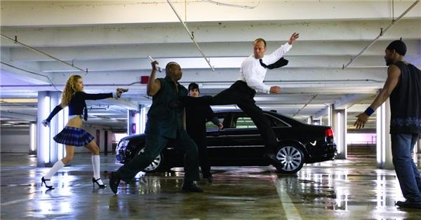 Tự tay nam diễn viên thực hiện các cảnh quay nguy hiểm. (Ảnh: Internet)