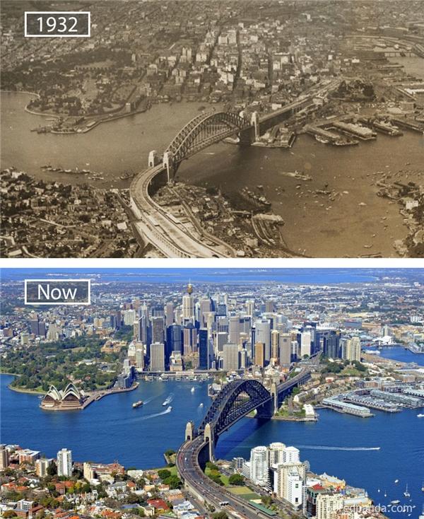 Nhìn sự lớn mạnh của Sydney ngày nay, ít ai nghĩ rằng thành phố này đã từng chịu ảnh hưởng nặng nề của cuộc Đại khủng hoảng vào thế kỉ 20.(Ảnh: Bored Panda)