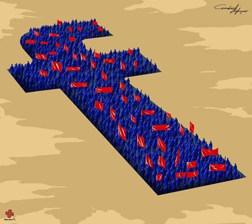 Mạng xã hội hiện nay giống như một chiến trường khi ai ai cũng nhanh nhanh giành lấy lãnh địa của mình và cực kì hung hãn.