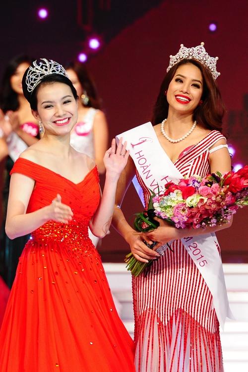 Vượt mặt Hoàng Yến, Thiên Lý, Thùy Lâm được xướng tên cho ngôi vị cao nhất của Hoa hậu Hoàn vũ Việt Nam được tổ chức lần đầu vào năm 2008. Vào tháng 10 năm ngoái (sau 7 năm đăng quang), Thùy Lâm chính thức trao vương miện và danh hiệu cho người kế nhiệm là Phạm Hương. Cùng năm đăng quang, Thùy Lâm lọt vào top 15 chung cuộc của Hoa hậu Hoàn vũ nhờ lợi thế sân nhà.