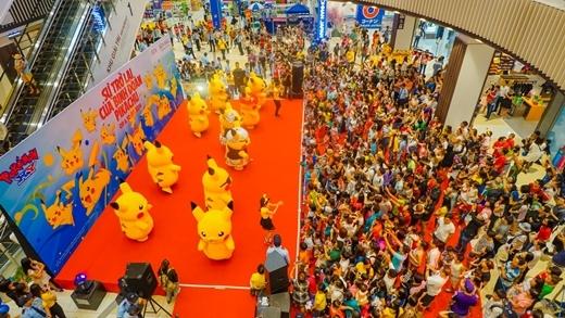 Các bạn trẻ đã có một cuối tuần thú vị với những chú Pikachu ngộ nghĩnh tại AEON MALL Bình Tân.