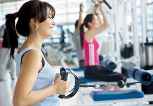 Tập gym… (Ảnh minh họa)