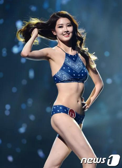 Kim Min Jeong (20 tuổi, đến từ Daegu) - Á hậu 2