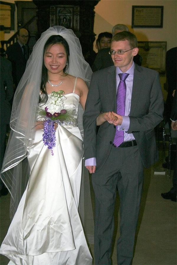 NơiThu NgânvàSimontổ chức hôn lễcũng chính là nhà thờ,nơi lần đầu tiên cả hai gặp gỡ.(Ảnh: NVCC)