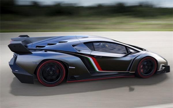 Lamborghini Veneno: 4,5 triệu USD.(Ảnh: internet)