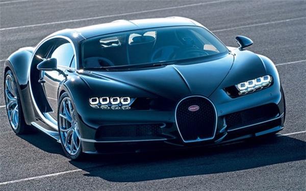 Bugatti Chiron: 2,5 triệu USD.(Ảnh: internet)