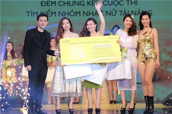 3 gương mặt chiến thắng vào nhóm nhạc Hello Yello là: Hoàng Ly, Hồng My và Hải Anh. - Tin sao Viet - Tin tuc sao Viet - Scandal sao Viet - Tin tuc cua Sao - Tin cua Sao