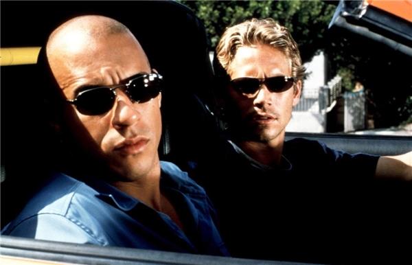 Vin Diesel và người bạn thân Paul Walker.