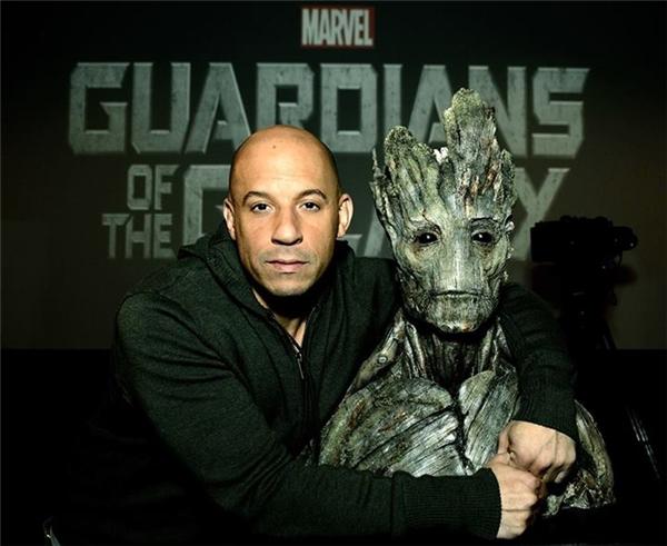 Anh lồng tiếng cho nhân vật Groot trongGuardians of the Galaxy.
