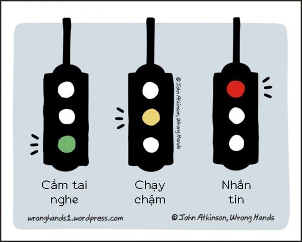 Những việc có thể làm theo đèn tín hiệu.