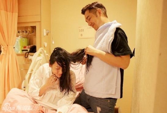 Đoàn Dự Trần Hạo Dân gây sốc khi đăng ảnh chăm sóc vùng kín cho vợ