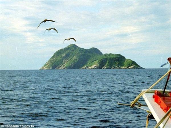 Hòn đảo này nằm ở Nam ĐạiTây Dương.