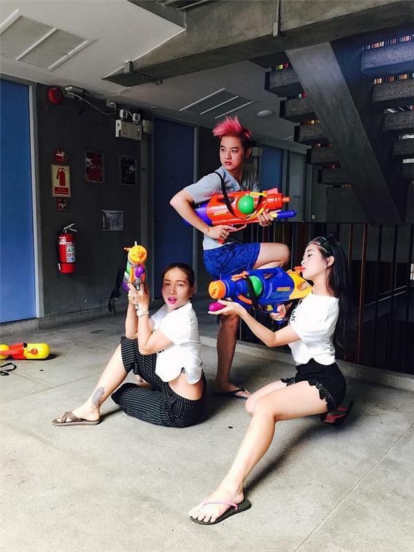 Thanh Duy: Bắn súng nước cũng phải ngầu! - Tin sao Viet - Tin tuc sao Viet - Scandal sao Viet - Tin tuc cua Sao - Tin cua Sao