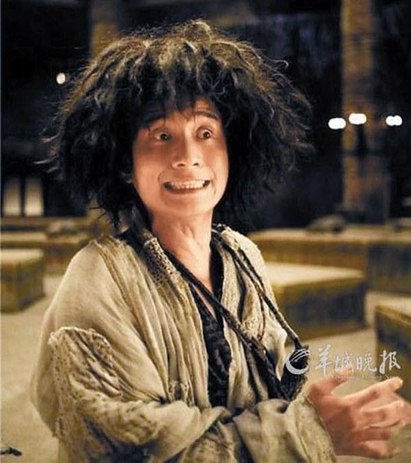 Đường Tăng sư phụtrong Tây Du giáng ma thiêncó vẻ giống thành viên của Cái Bang.