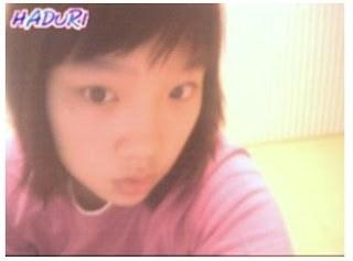Tae Yeon có ngoại hình hơi khác so với hiện tại, mũi hơi to và mắt một mí.