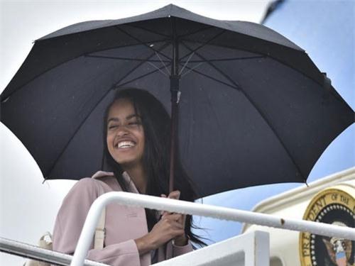 Malia được nhận vào Đại học Harvard.