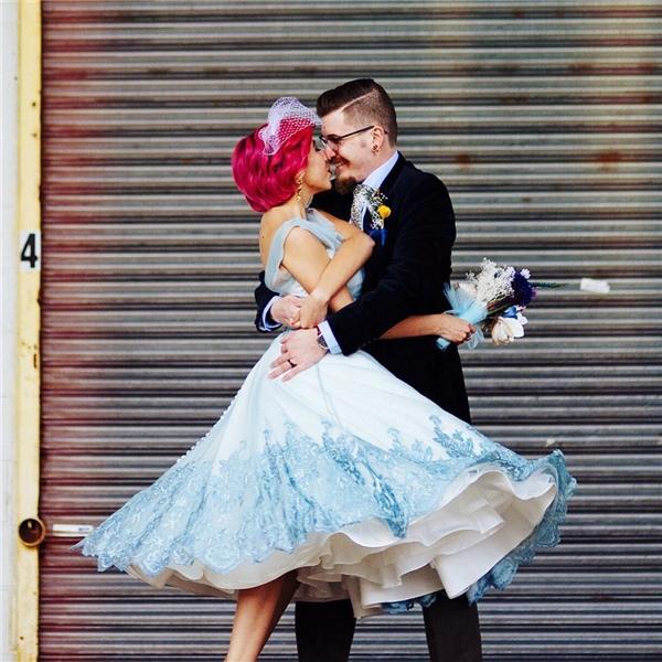 """Một chiếc váy cưới mang đậm phong cách """"thần tiên Disney"""". (Ảnh: Instagram)"""