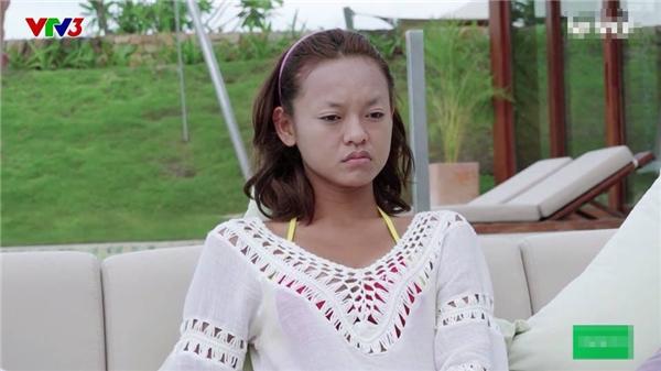 Quỳnh Mai và dung mạo khó đỡ trong tập 4.