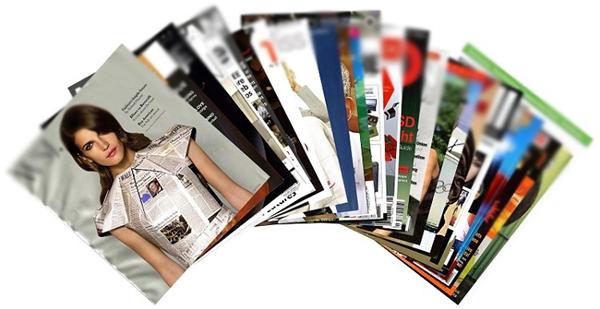 Cả những quyển tạp chí cũng là một trong nhiều tác nhân có thể gây hại sức khỏe.