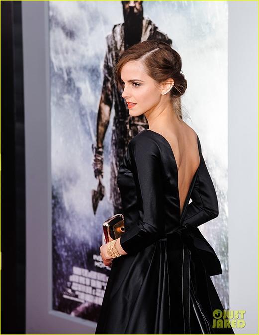 Emma tại buổi lễ công chiếu phim.