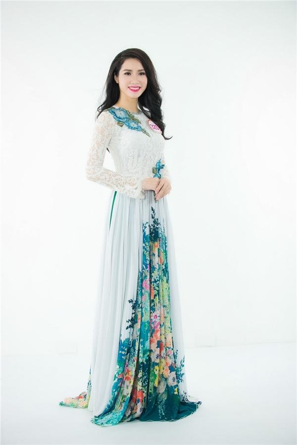 Nguyễn Thị Ngọc Vân - thí sinh đến từ thành phố Cảng Hải Phòng.