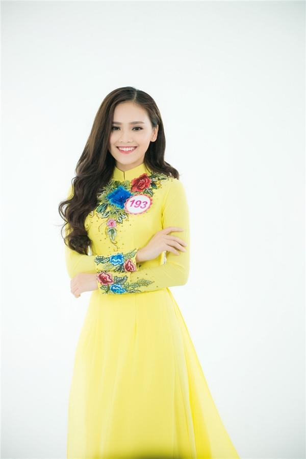 Trần Tố Như đến từ Thái Nguyên có diện mạo vô cùng ngọt ngào, ấn tượng.