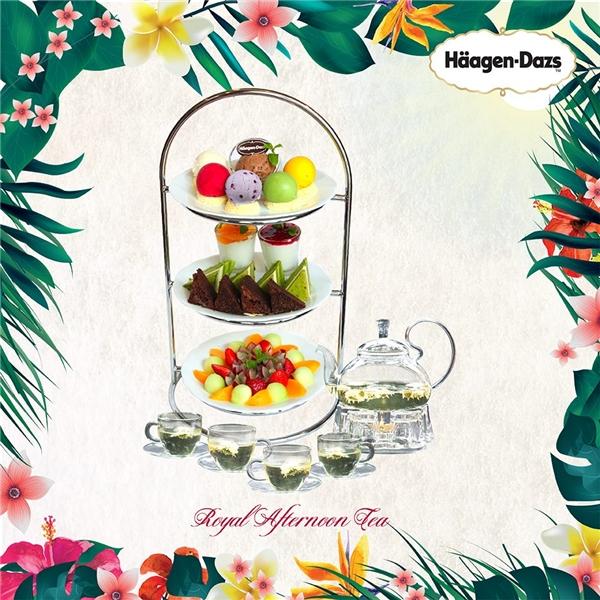 Chào đón tiệc trà quý tộc mùa hè tại Häagen-Dazs