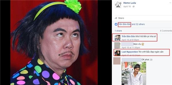 Nhiều nghệ sĩ của làng hài như Tiến Luật, Tạ Anh Đức đều có tương tác với Hono Lulu. - Tin sao Viet - Tin tuc sao Viet - Scandal sao Viet - Tin tuc cua Sao - Tin cua Sao