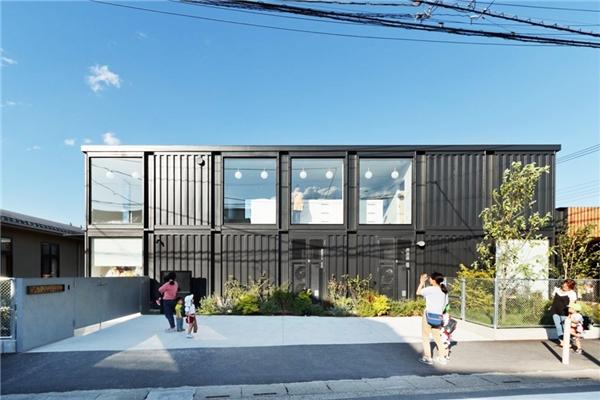Nhà trẻOgura Asahitại thành phố Saitama, Nhật Bản. (Ảnh: Designboom)
