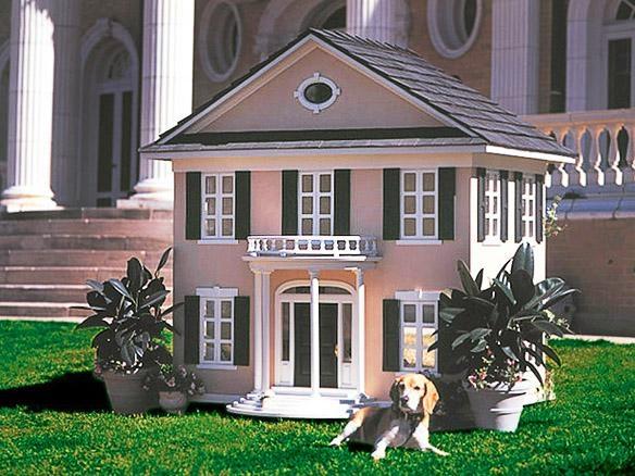 Căn biệt thự theo kiểu cổ điển này có giá 6.100$ (khoảng 136 triệu đồng), mô phỏng theo chính ngôi nhà của người chủ. (Ảnh Internet)