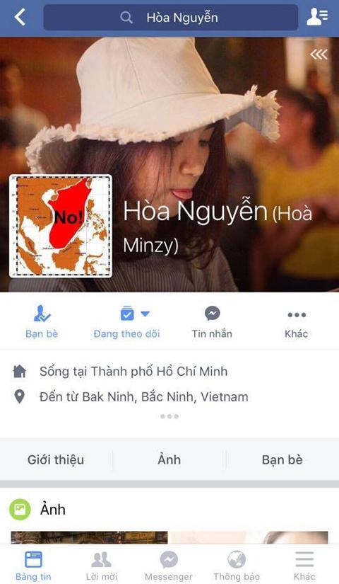 Sao Việt lên tiếng phản đối 'đường lưỡi bò' phi pháp của Trung Quốc - Tin sao Viet - Tin tuc sao Viet - Scandal sao Viet - Tin tuc cua Sao - Tin cua Sao